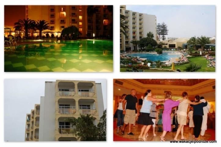 Maroko Agadir hotel Kenzi opinie