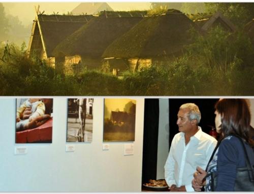 Wolin o świcie na wystawie fotograficznej w Kairze