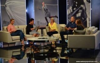 Miasto Kobiet - dzień w studiu TVN
