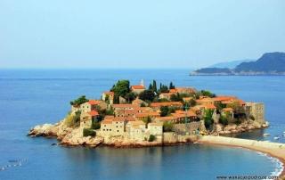 Campingi w Czarnogórze - Święty Stefan