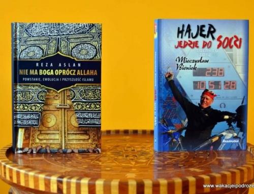 Książki na prezent pod choinkę, nie tylko o podróżach