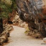 Sanktuarium Lluc droga na punkt widokowy