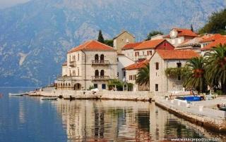Zwiedzanie Czarnogóry - Perast