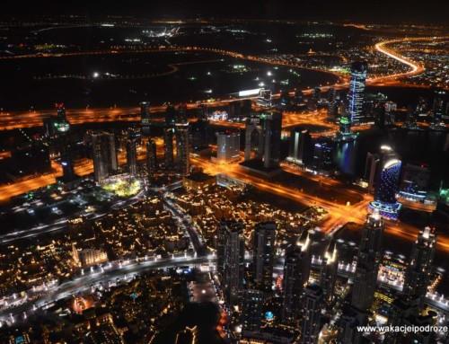 Dubaj – Burj Khalifa i tańczące fontanny – absolutnie niewyobrażalne