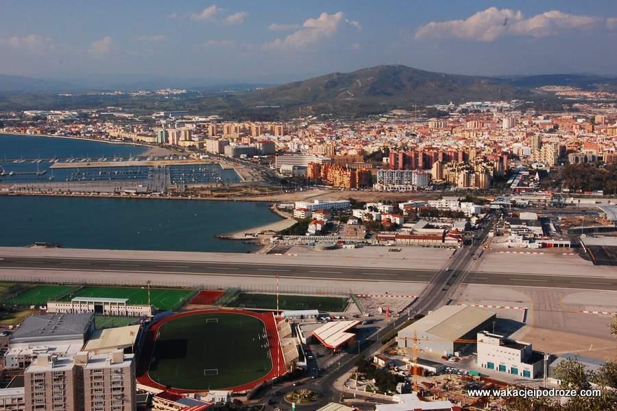 Lotnisko na Gibraltarze - zwiedzanie Gibraltaru