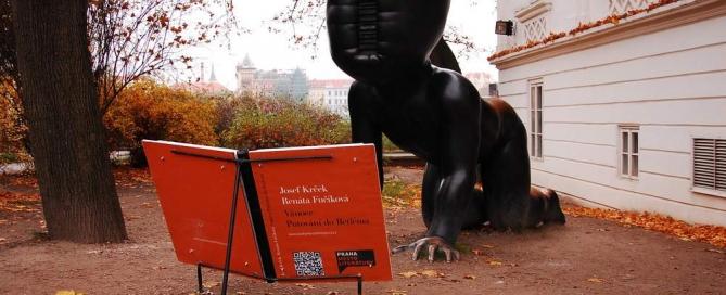 Praga informacje praktyczne - rzeźby na Kampie