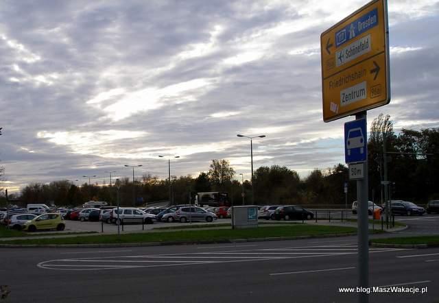 berlin schonefeld parking przy lotnisku