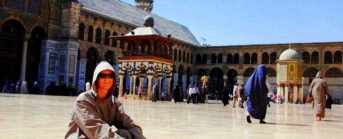 Damaszek w świątynii umajdaów