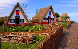 Madera Santana wioska jak z bajki