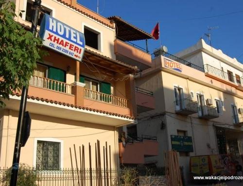 Noclegi w Albanii – Xhaferi tani hotel w Sarandzie