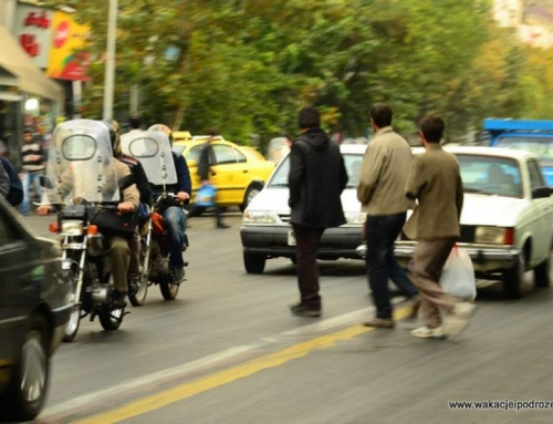 Jak przejść przez ulicę w Iranie ?
