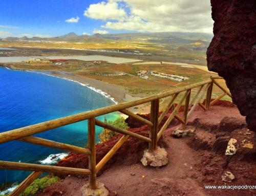 Plaże na Teneryfie – Playa de la Tejita + Punta Roja gratis