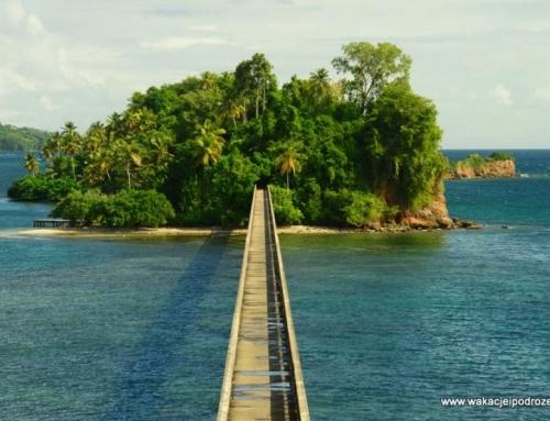 Własna, tropikalna wyspa na Dominikanie i tajemniczy most donikąd