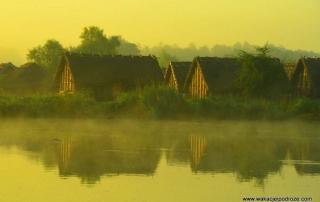Wyspa Wolin o świcie