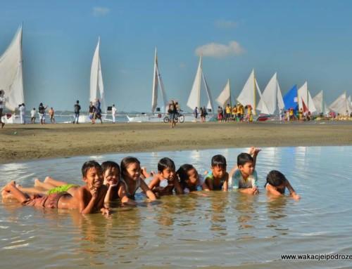 Plaża Arevalo Beach i największa impreza żeglarska na Filipinach