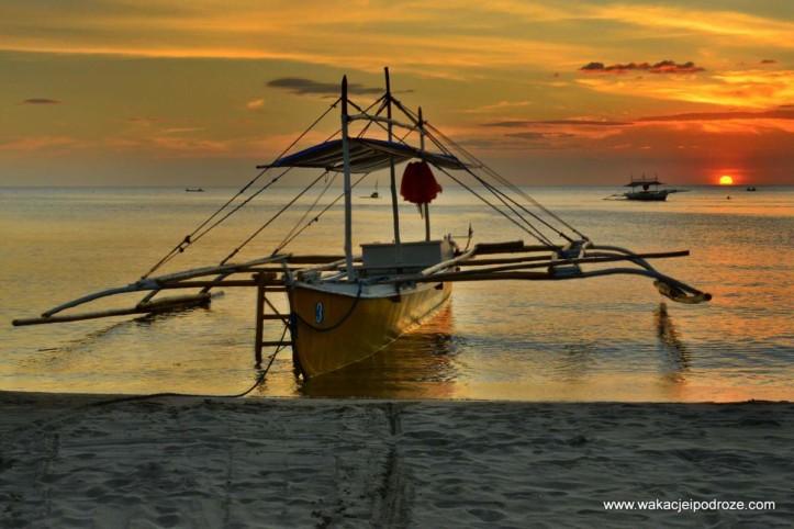 Plaża Sugar Beach na Filipinach