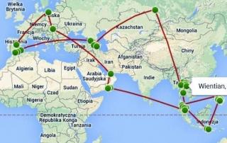 Przedreptać Świat - mapa