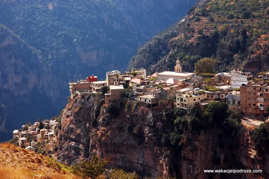 Liban, cedry i dolina Kadisza
