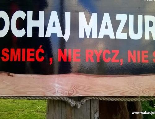 Co się zmieniło na Mazurach ?