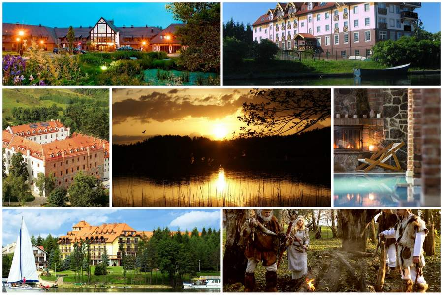 Najlepsze hotele na Mazurach