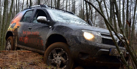 Dacia Duster test w terenie
