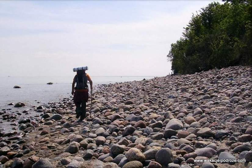 Pieszo wzdłuż wybrzeża Bałtyku