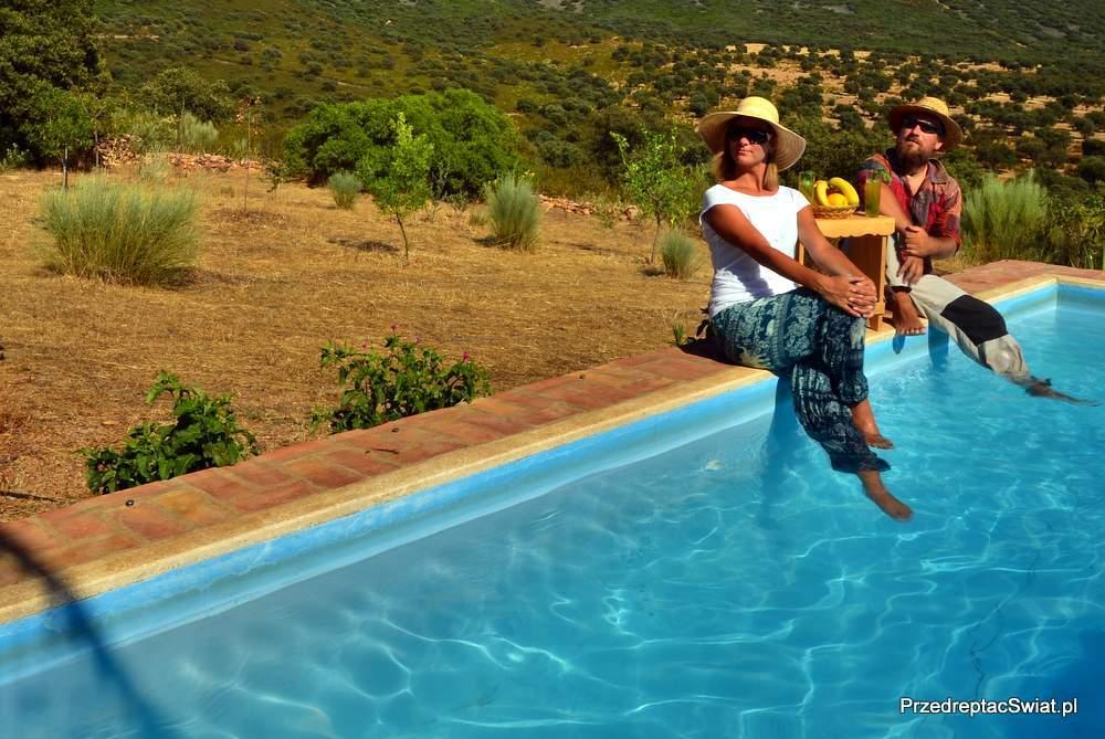 Hiszpania dom z basenem do wynajęcia Andaluzja