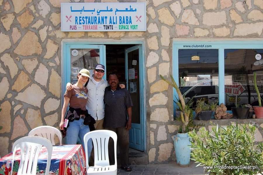 Douz restauracja Ali Baba