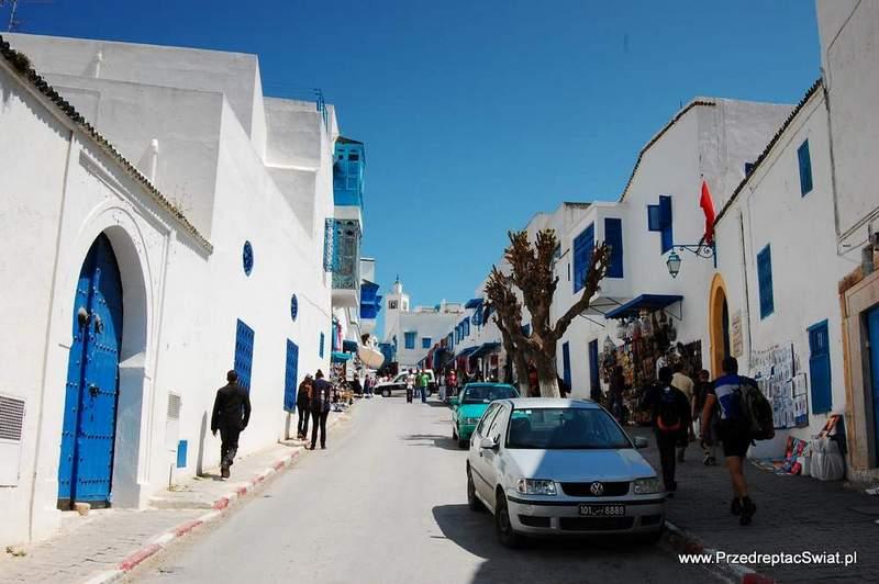 Uliczki w Sidi Bou Said