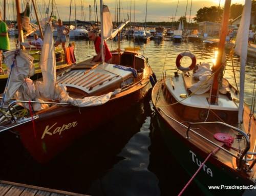Najpiękniejsze jachty i żaglowce na Mazurach