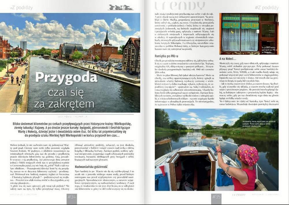szlak wielkiej pętli wielkopolski w magazynie mm trendy