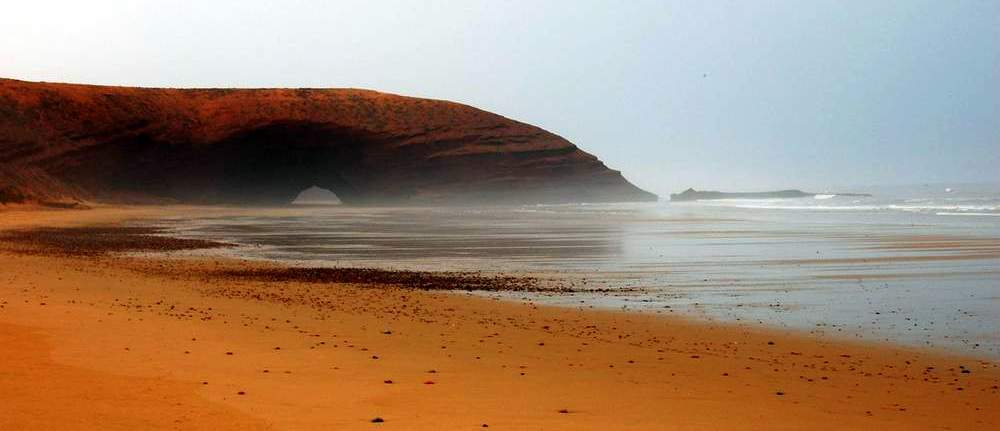 Maroko ciekawe miejsca - Lagzira Beach