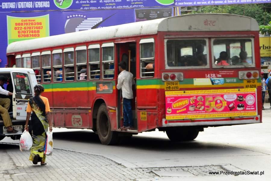 Mumbai - transport w Indiach