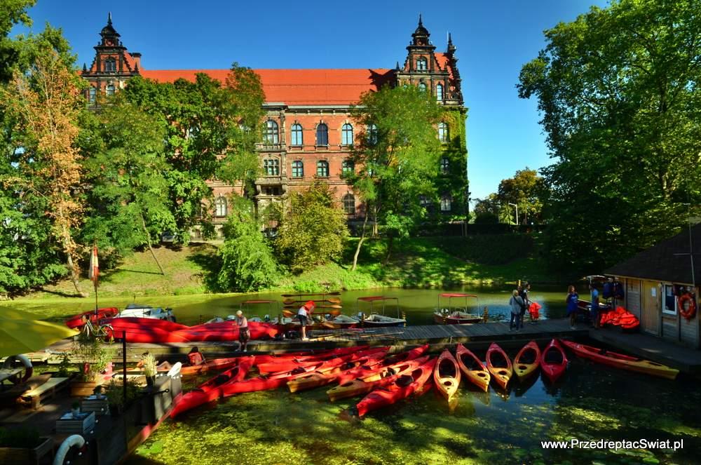 Warto zobaczyć Wrocław - kajaki