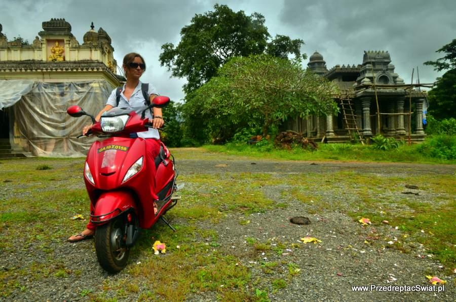 Południowe Goa motor bike