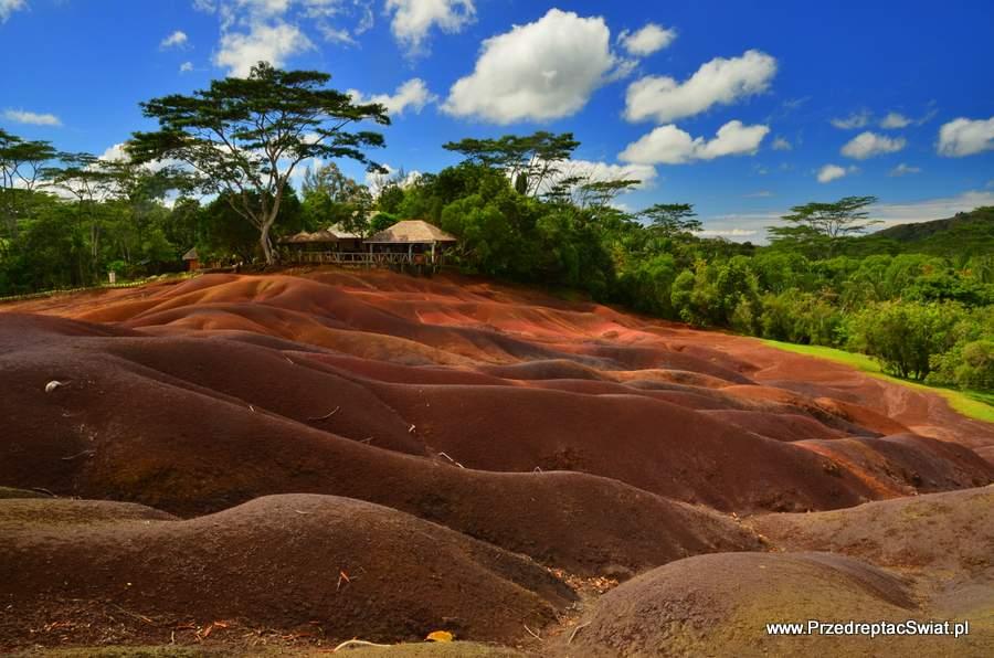 Rezerwat 7 kolorów ziemi - Mauritius