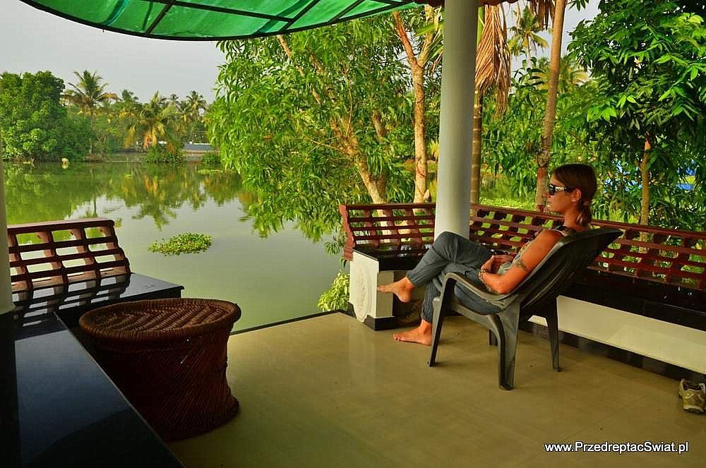 Kerala domek nad wodą
