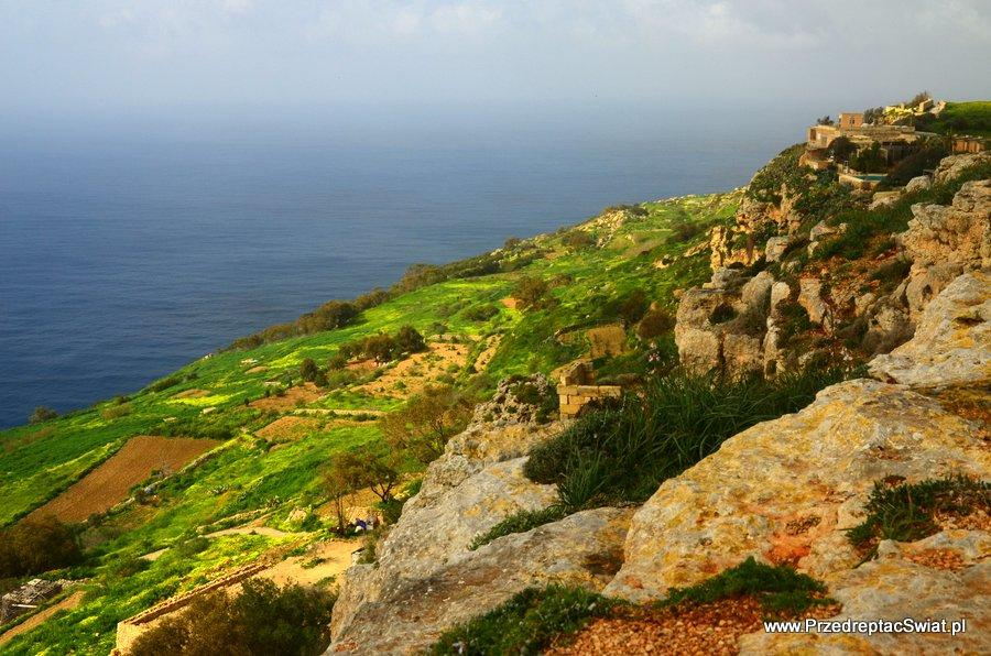 Dingli - trasy piesze na Malcie