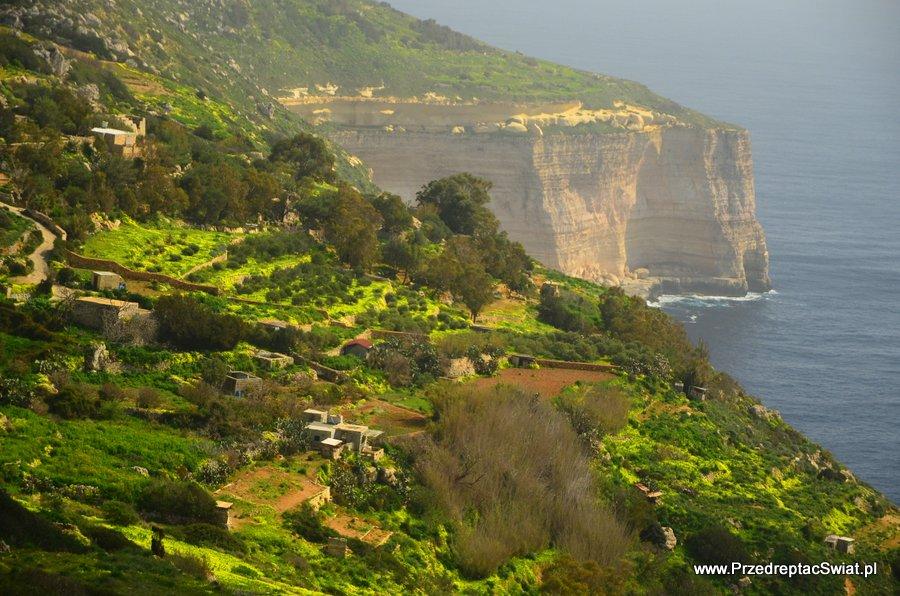 Malta - Dingli klify