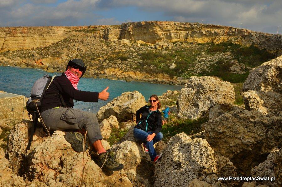 Paradise Bay - góry na Malcie