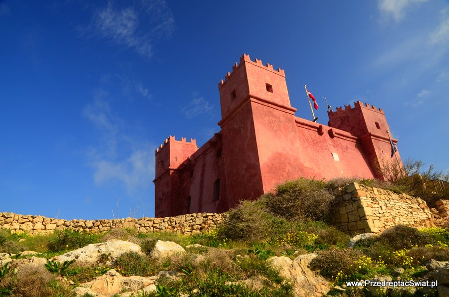 Malta Red Tower - Marfa Ridge