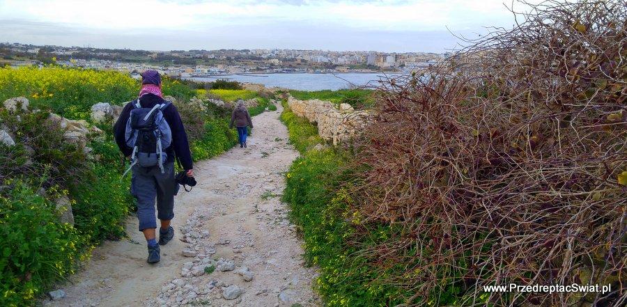 Marsakala - trasy piesze na Malcie