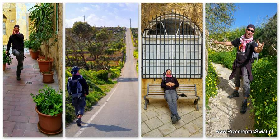 Malta i Gozo na piechotę