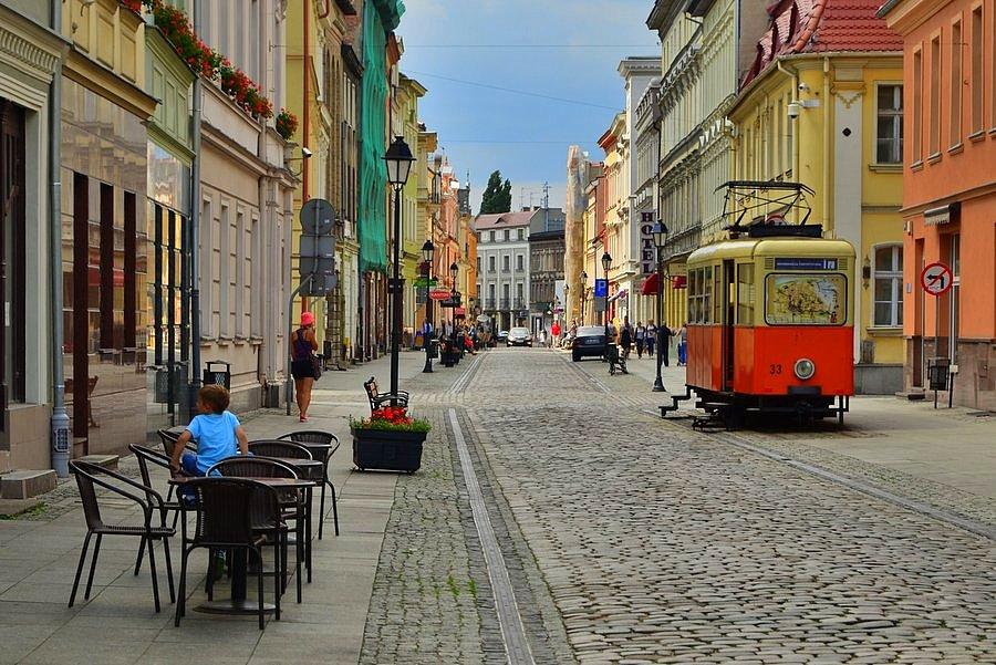 Bydgoszcz - centrum, ciekawe miejsca w Polsce