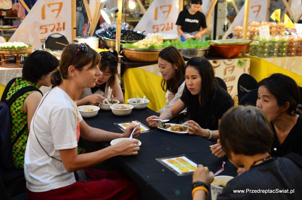 Jedzenie w Chiang Mai