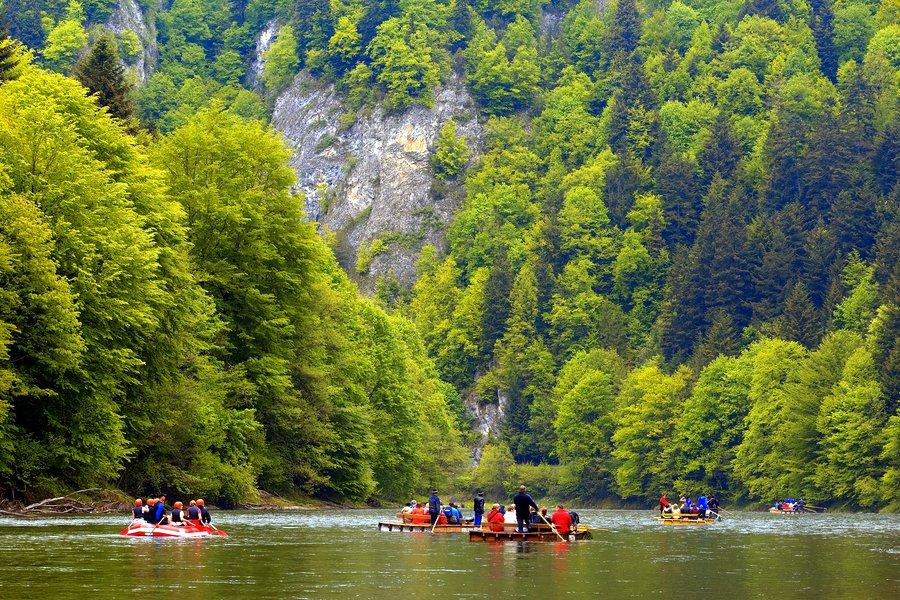 Ziemia Sądecka co warto zobaczyć - spływ Dunajcem