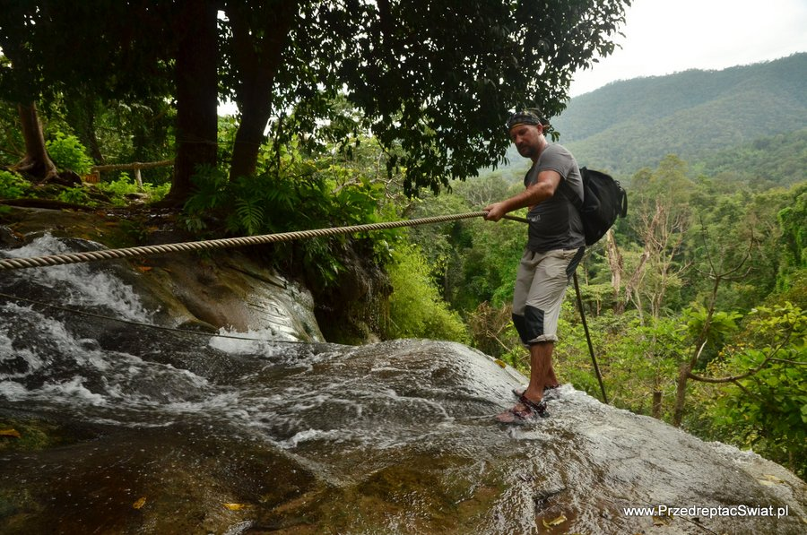 Bua Tong Sticky Waterfall Thailand