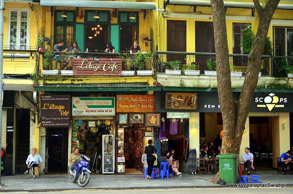 Kawiarnia w Hanoi