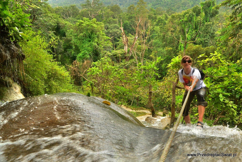 Wodospad w okolicy Chiang Mai