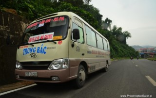 autobus z Sapy do Ha Giang